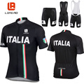 LANGE AO Italienische flagge radfahren kleidung radfahren jersey sommer kurzarm Radfahren trikots/Bike sport kleidung Radfahren kleidung-in Fahrrad-Sets aus Sport und Unterhaltung bei