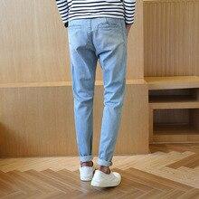 2016 новая Мода Осень Зима хлопок джинсы Харлан брюки мужчины удобные промывают мужские джинсы брюки производителей, продающих