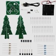 Colourful RGB Christmas Bushes led digital diy equipment for Christmas present/New 12 months present