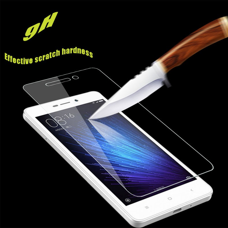 9H Safety Protective Film For Xiaomi redmi 3 3S 4 X Pro A1 black shark Tempered Glass Screen Protector Film on Redmi 5 plus
