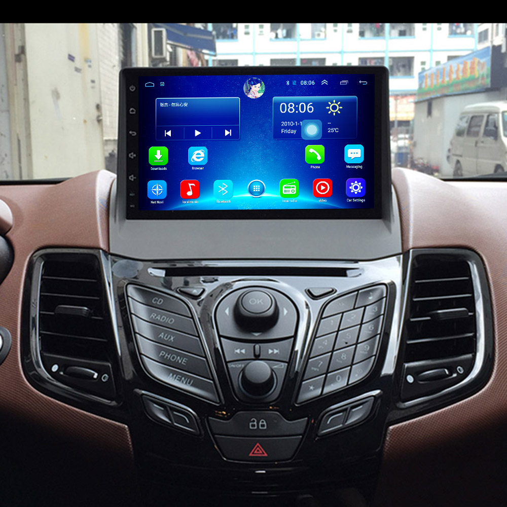 Pure Android Car Gps Multimedia Video Radio Player In Dash For Ford Fiesta 2009 2015 Navigation Stereo Pure Android In Dashandroid Car Aliexpress