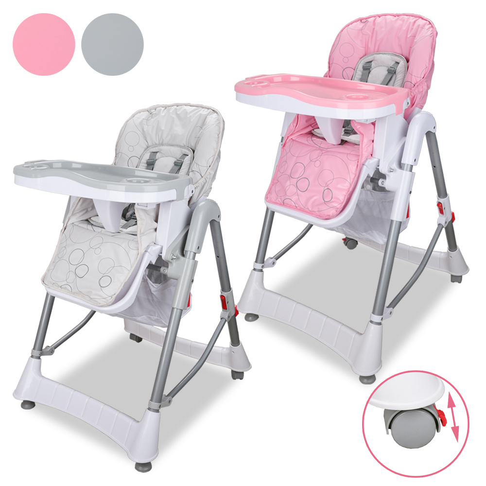 Height Adjustable High Chair Baby Office Chairs Chicago Il Multi Function With Five Point Seat Belt Child Feeding Comfortable European Safety Stand