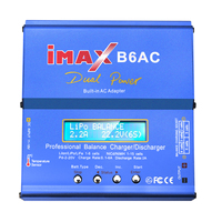 IMAX B6 AC Battery Charger 80W B6AC Lipo NiMH Nicd LiFe RC Battery Balance Charger Discharger With LCD Screen