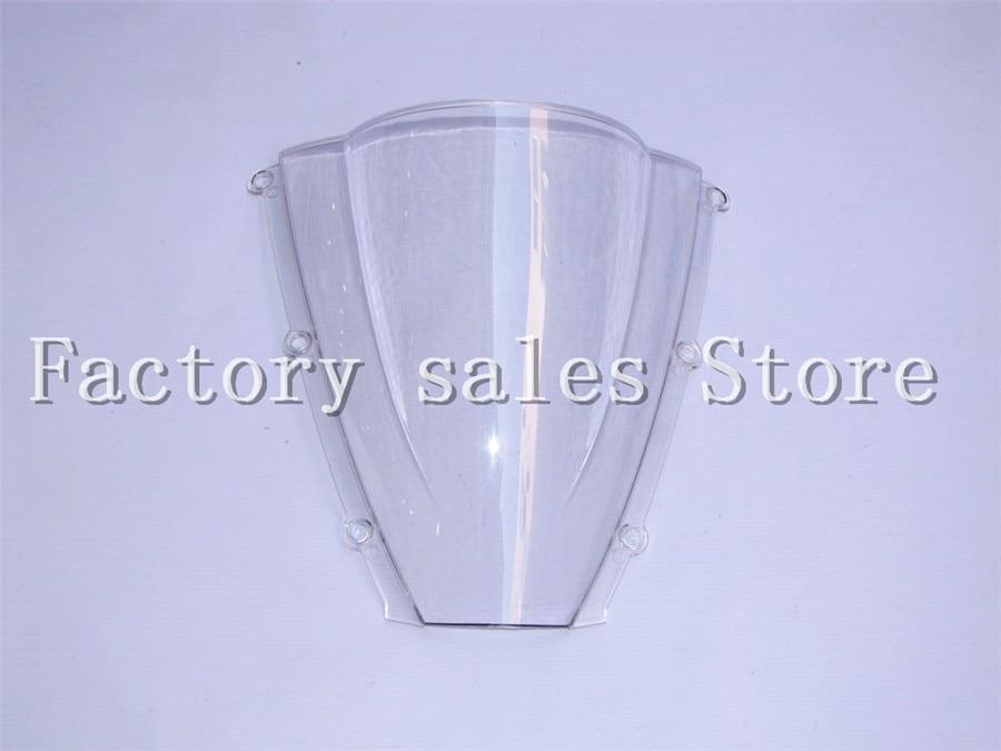 HotSale For Honda CBR 600 RR CBR600RR F5 2003 2004 White Windshield WindScreen Double Bubble CBR600 RR CBR 600RR