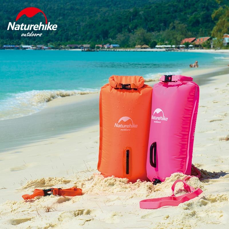 Naturehike 28L надувные Waterpoof одежда заплыва флотации мешок океан реки бассейн безопасности жизни оборудования водостойкий дрейфующих сухой мешок