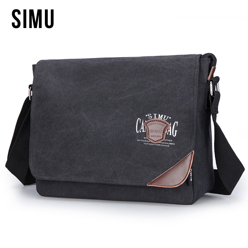 New Fashion Style Men's Cotton Canvas Retro Chest Bag Shoulder Crossbody Small Male Bags Travel Casual Messenger For Men HQB1877  zimber zm 10983