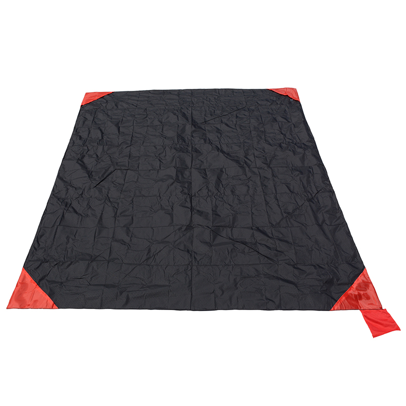 Pocket Blanket Outdoor Camping Mat Ultralight Picnic Mat Foldable Beach Mat Waterproof Travel Mat Camping Equipment sandy beach round mat