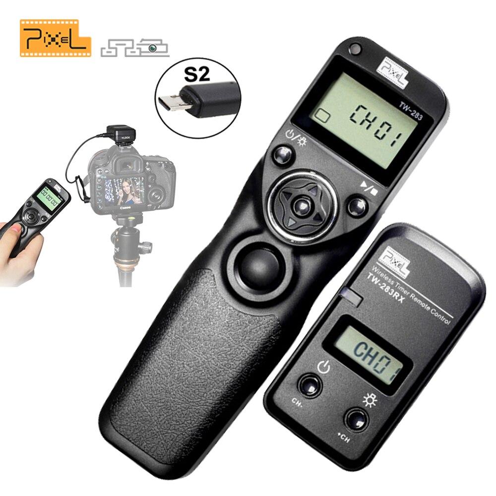 PIXEL TW-283/S2 TW-283 Wireless Shutter Release Timer Remote Control For Sony DSC-RX10 II,DSC-RX100 II,DSC-RX100 III,DSC-RX100