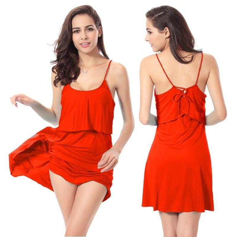 Новый стиль лето красное платье Для женщин Купальники для малышек Холтер Купальник без рукавов Beach Party мини прикрыть Vestidos hqvb006