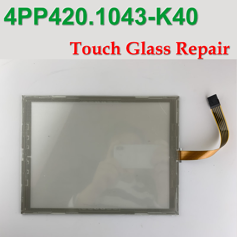 4PP420 1043 K40 Touch Glass Panel for HMI Panel repair do it yourself New Have in