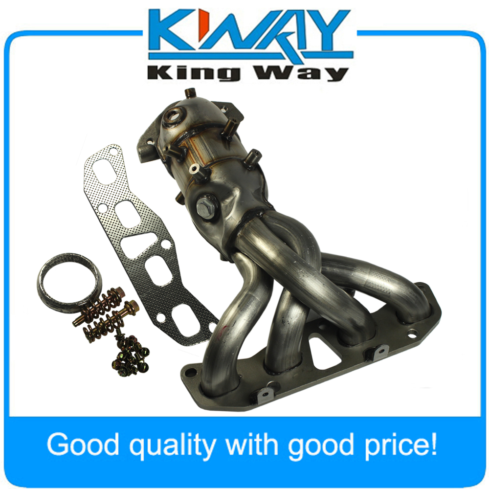 New Exhaust Manifold With Catalytic Converter Fit For Nissan Altima 25l 20022006: 2002 Nissan Altima Exhaust Manifold At Woreks.co