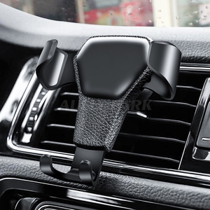 Image 2 - Car Phone Holder For Iphone X8 Samsung HUAWEI Mobile Phone Holder One hand Operate Phone In Car Air Vent Mount Stand