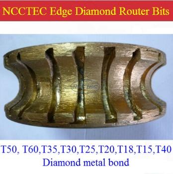6'' T30 Metal Bond Diamond Router Bits FREE Shipping | 150mm Diamond Hand Profile Wheel | Position 1