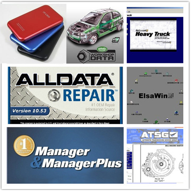 alldata auto repair software v10 53 and mitchell on demand atsg rh aliexpress com Auto Repair Manual mitchell motor manuals online