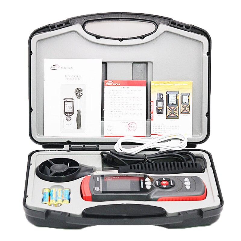 GT8907 Instruments de mesure de vitesse anémomètre Lcd numérique compteur de vitesse du vent capteur Portable 0.1-45 m/s anémomètre compteur de vitesse du vent - 5