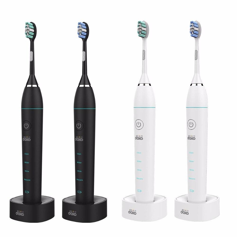 Doxo Electric Toothbrush Acoustic Soundwave Sonic Toothbrush Charging Dente Soft Toothbrushes Intelligent Vibration Automatic