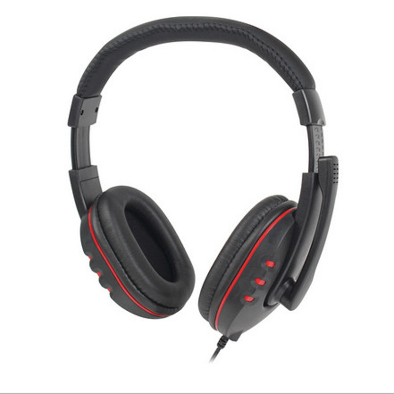 USB Gaming Headset <font><b>Wired</b></font> Stereo Micphone Über Ohr <font><b>Noise</b></font> <font><b>Cancelling</b></font> Kopfhörer Für Sony PS3 PS4 PC 15J Drop Verschiffen image