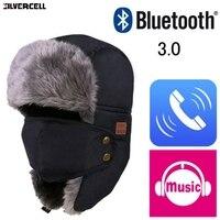 Autumn Winter Men Women Wireless Bluetooth Smart Cap Warm Beanie Hat Headset Headphone Speaker Mic Bluetooth