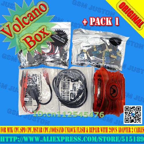 Caixa vulcão + Pacote de 1 Frete grátis