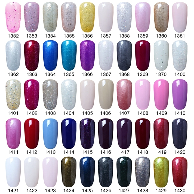 Elite99 15ml UV Gel Nail Polish Gold Glitter Nail Polish Manicure Gel polish Gels For Nail Art Polish Pick 1 from 241