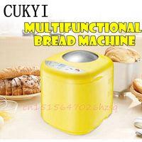 CUKYI Gospodarstwa Domowego automatyczne wielofunkcyjne bookable ogrzać jogurt maszyny chleba ciasto ekspres