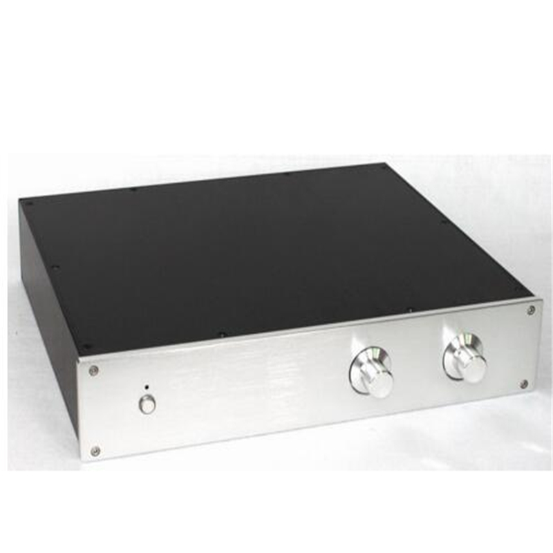 DIY box ( 425*80*352mm) WA116 All aluminum amplifier chassis / Preamplifier / Tube amplifie case / AMP Enclosure / housing /
