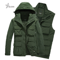 Army AFS JEEP Jacket 2016 Men Camping Military Tactical Sports Coat Outdoor Winter Windproof Jackets Camouflage