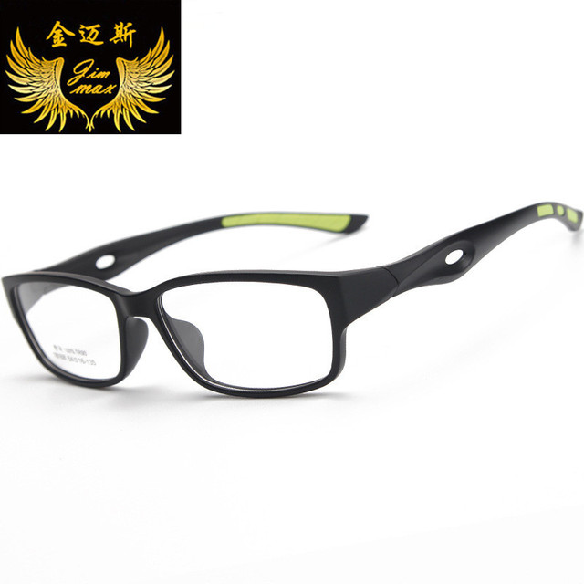 2016 Novo Design Homens TR90 Óculos Estilo de Moda de Qualidade Do Vintage Quadrados Esportes Eyewear do Frame Ótico Para Homens Oculos