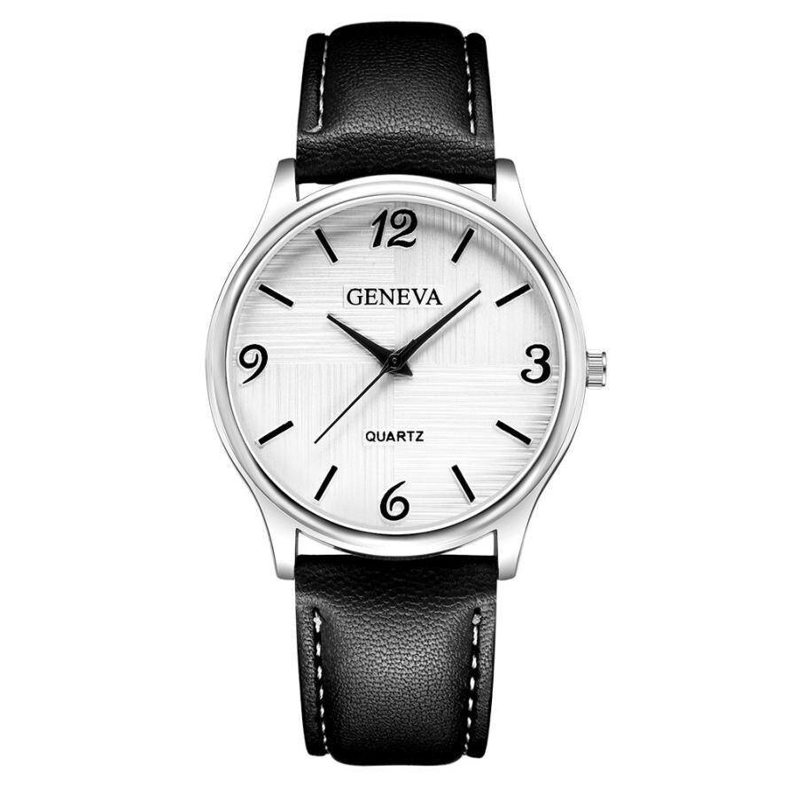 Geneva 2018 Fashion Luxury Men's Quartz Wrist Watches