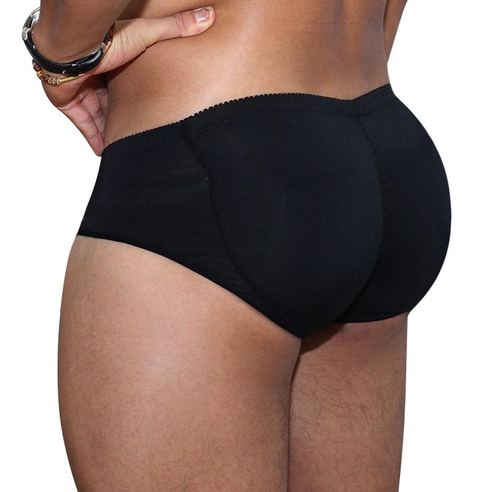 Men's Pads Butt Lifter Control Panties Slimming Underwear Panties Man Shaper Waist Trainer Padded Enhancement Cotton Underwear