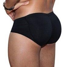 a93303f95a6 Men s Pads Butt Lifter Control Panties slimming underwear panties man shaper  waist trainer Padded Enhancement Cotton Underwear