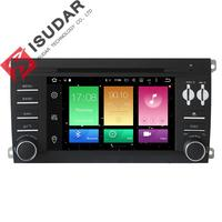 Android 6.0.1 Two Din 7 Inch Car DVD Player For Porsche/Cayenne With Octa Cores 2GB RAM 32GB ROM 3G/4G Wifi GPS Navigation Radio