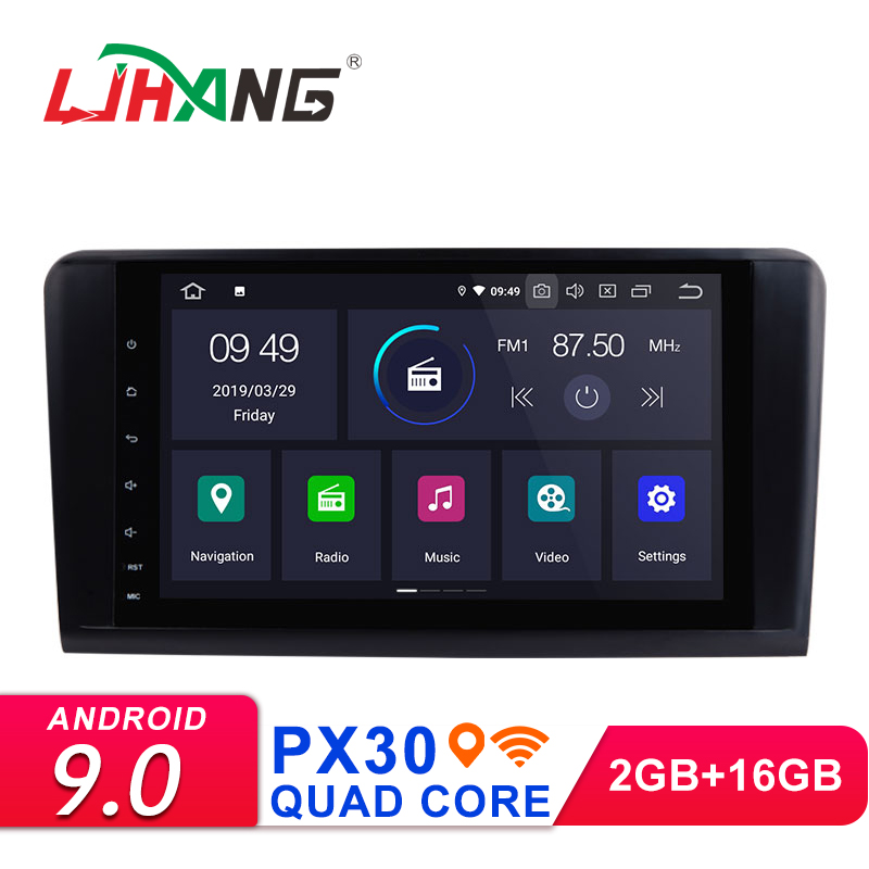 LJHANG 2 Din 9 Android 9 0 Car Radio Multimedia Player For Mercedes Benz ML GL