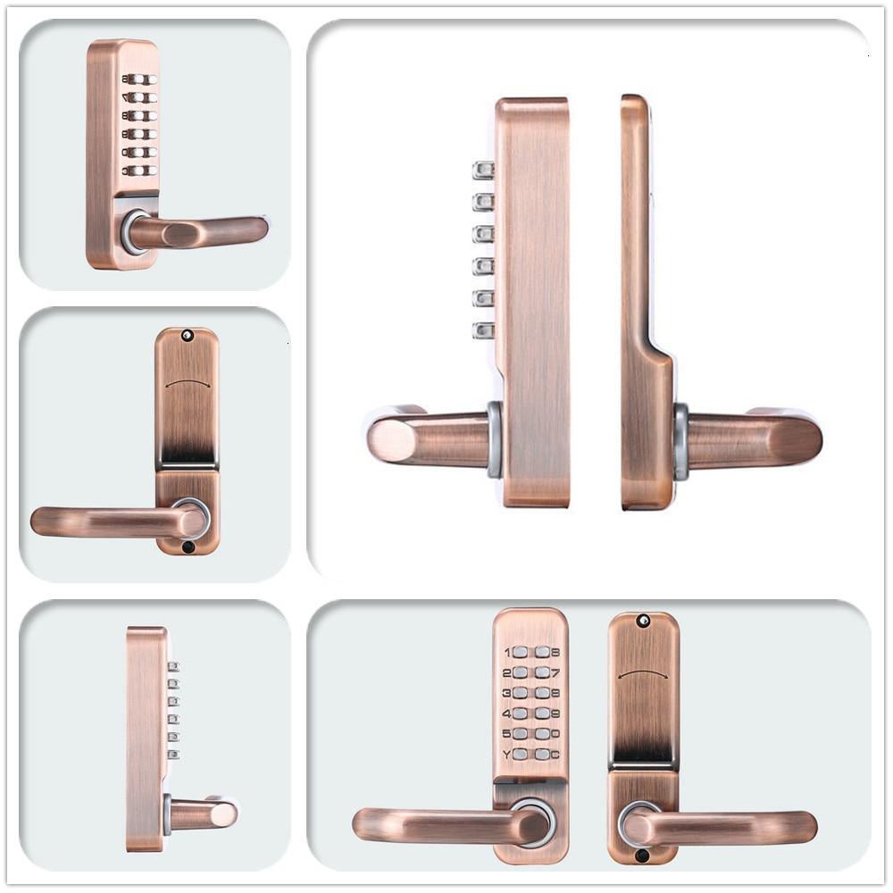 Keyless Password keypad Smart Door Lock single bolt Left or Right Free Handle in Door Locks from Home Improvement