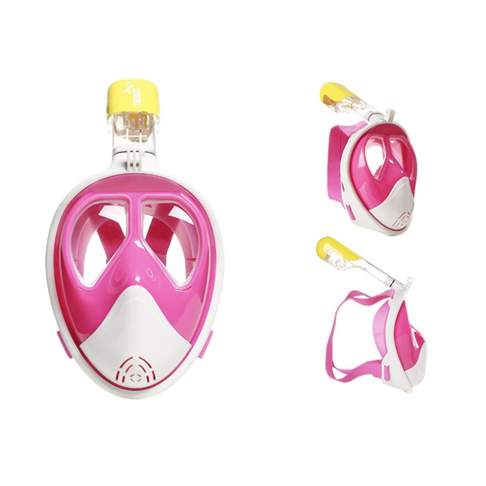 Pink Professional Optical Goggle Mask Myopia Diving Scuba Mask Snorkeling Equipment Swimming For Nearsighted With Breathing Tube цена 2017