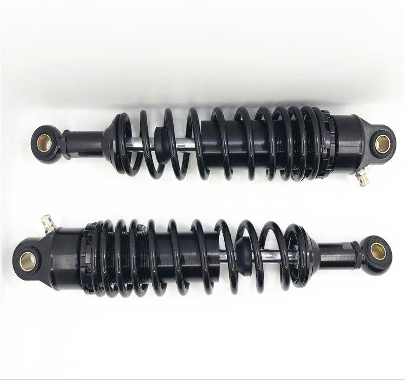 Universal 280mm 300mm 320mm 340mm Rear Shock Absorber Spring Rear Shock Absorber Gokart ATV Black 320mm Gold