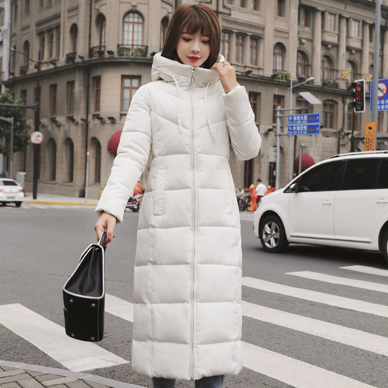 Plus Size 4XL 5XL 6XL womens Winter Jackets Hooded Stand Collar Cotton Padded Female Coat Winter Women Long Parka Warm Thicken 13