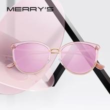 MERRYS DESIGN Women Fashion Cat Eye Polarized Sunglasses Ladies Luxury Brand Trending Sun glasses UV400 Protection S6305