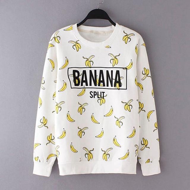 Spring Girls Kids Clothes T shirt Cartoon Banana Kids Girl Clothies T shirt Spring Long Sleeve Kids Clothes T-shirt For Boy Girl