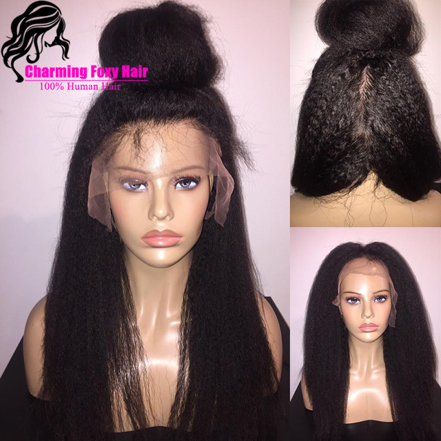 Mongolian Coarse Yaki Straight Full Lace