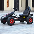 Niños cars cuatro de doble unidad de karts para niños paseo eléctrico en y con los niños viajen niños coche eléctrico de control remoto 4 años