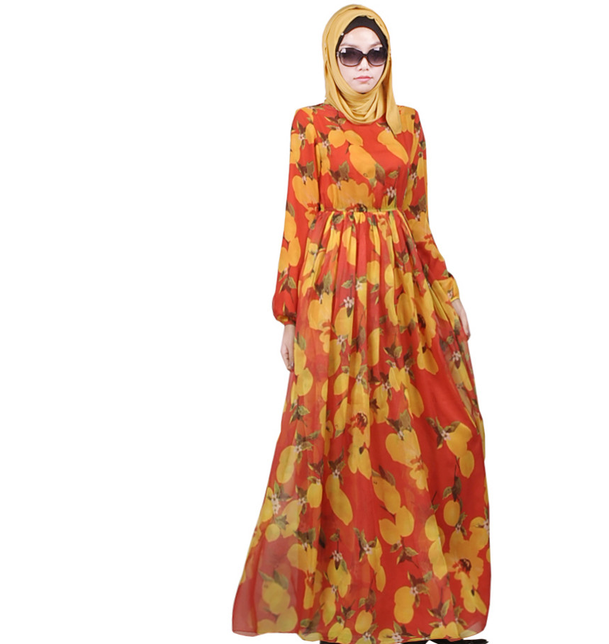 Fashion Chiffon Muslim Abaya In Dubai Dubai Islamic Clothing For Women Muslim Muslim Abaya