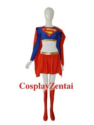 Sexy Supergirl DC Comics Superhero Costume Cosplay halloween costumes for women