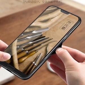 Image 4 - 新華為名誉 10 ケーススリム木製バックカバー tpu バンパーケース huawei 社の名誉 10 電話ケース Honor10