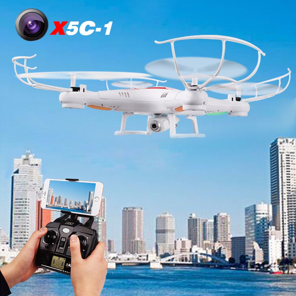 SYMA X5C (Upgrade Version) RC Drone With 2MP HD Camera 6-Axis RC Quadcopter Helicopter X5 Dron Without Camera cheapest price hot selling syma x5c x5c 1 2 4g rc helicopter 6 axis quadcopter drone with camera vs x5 no camera free shipping