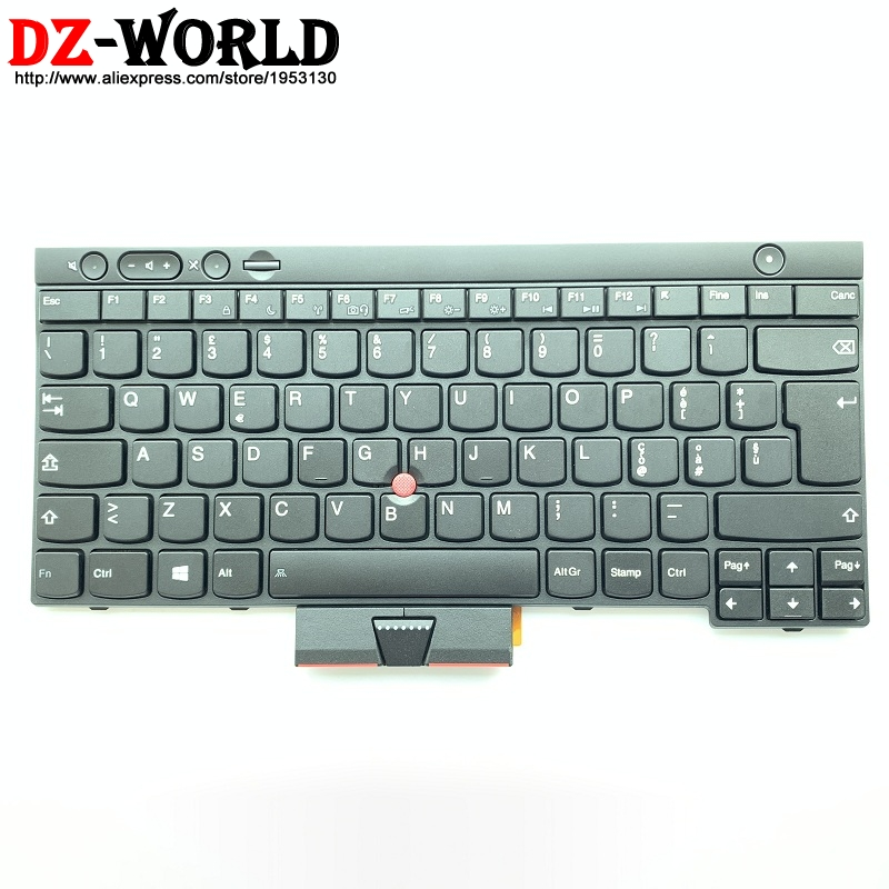 New/Orig IT Italy Keyboard For Lenovo Thinkpad L430 L530 T430 T430i T430S T530 T530i W530 X230 X230i Teclado 04X1332 04Y0582