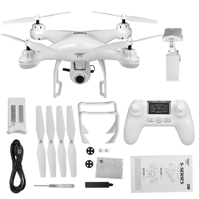 S-SERIES S20W Doppio GPS Dinamico Seguire WIFI FPV Con 1080 p Ampio Angolo di Macchina Fotografica RC Drone Quadcopter Da Corsa Quadcopter VS UP Air