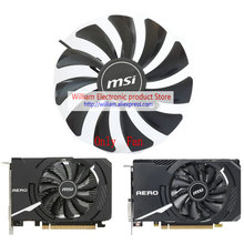 Yeni orijinal MSI RX560 GTX1050 GTX1060 AERO ITX Video grafik kartı soğutma fanı HA9010H12SF Z DC12V 0.57A 3300RPM M560