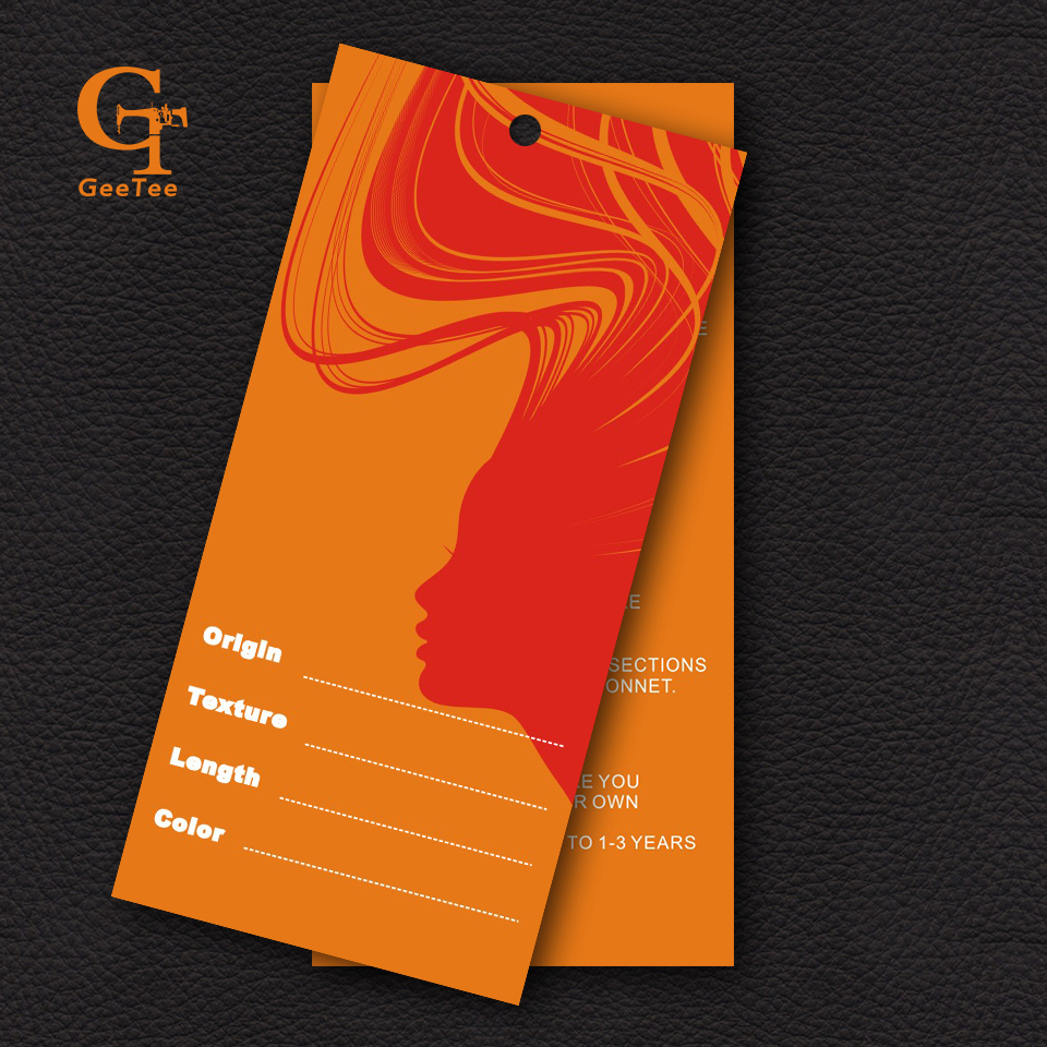Oem Custom Clothing Paper Price Hang Tag Tags Your Brand