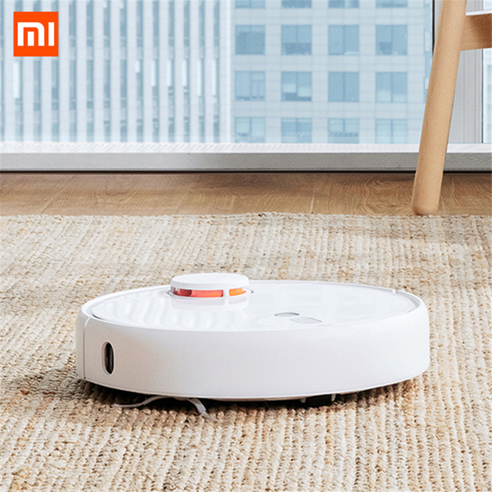Original Xiaomi Mi Robot Vacuum Cleaner 1S For Home Automatic Sweeping Charge Smart Planned Cleaning Dust Cleaner APP Control  (3)_